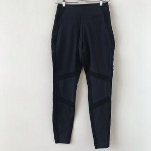 Athleta black and navy pants
